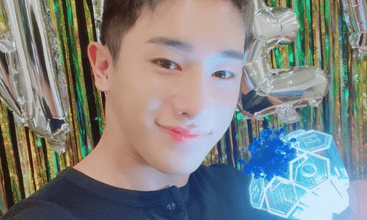 Wonho revela su lightstick oficial