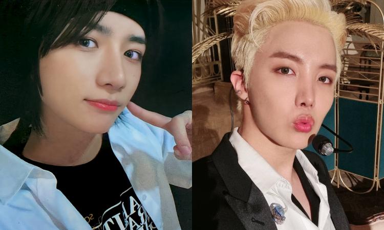 Beomgyu de TXT agradece a J-Hope de BTS por su amabilidad