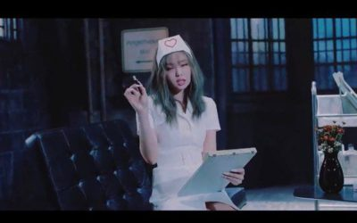 Escena del MV de Lovesick Girls de Blackpink