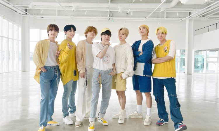 Vestuario de BTS en el video performance de Butter