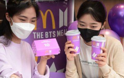 """Estes são os lucros obtidos pelo McDonald's com a """"BTS Meal"""""""
