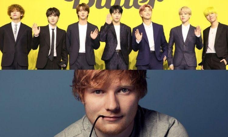 BTS y Ed Sheeran