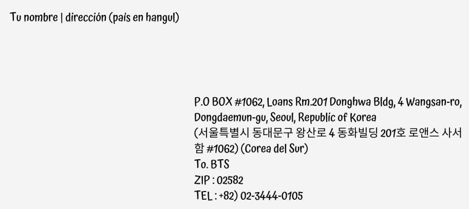 ARMY, ¡Entérate como enviarle una carta a los chicos de BTS!