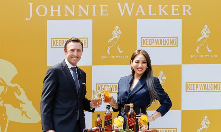 La rapera CL se une a la campaña mundial de Johnnie Walker