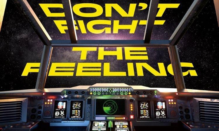Portada de Don't Fight The Feeling de EXO