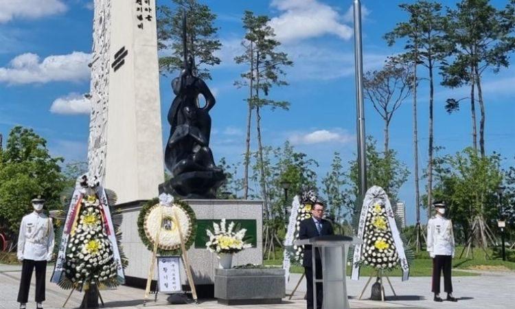 Embajada de Colombia rinde homenaje