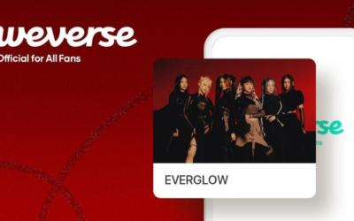 EVERGLOW se une oficialmente a la plataforma Weverse