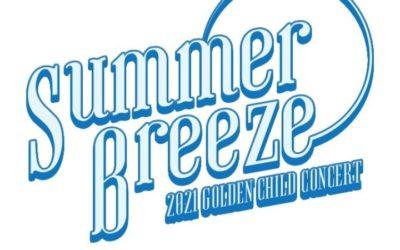 Logo del concierto de Golden Child