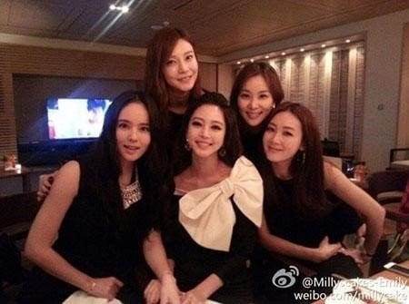 La foto de Han Ye Seul y sus amigas despierta rumores sobre su novio una vez más