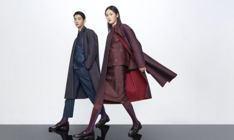 Hanbok modernizado