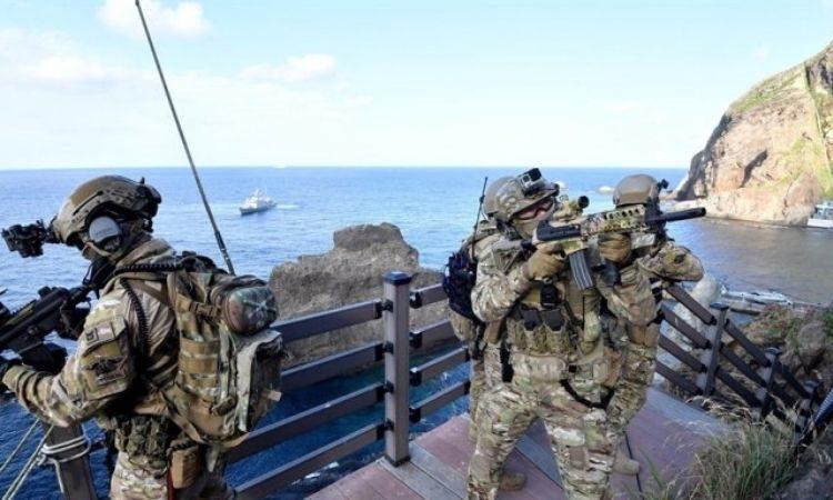 Infantería de Marina en Dokdo