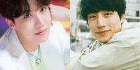 J-Hope y Kentaro Sakaguchi
