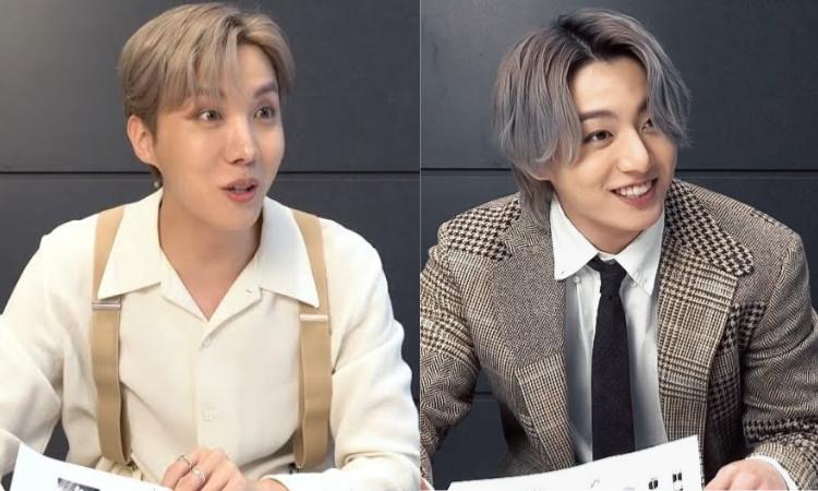 Jungkook y J-Hope de BTS obtienen el puntaje más alto en elexamen del FESTA 2021