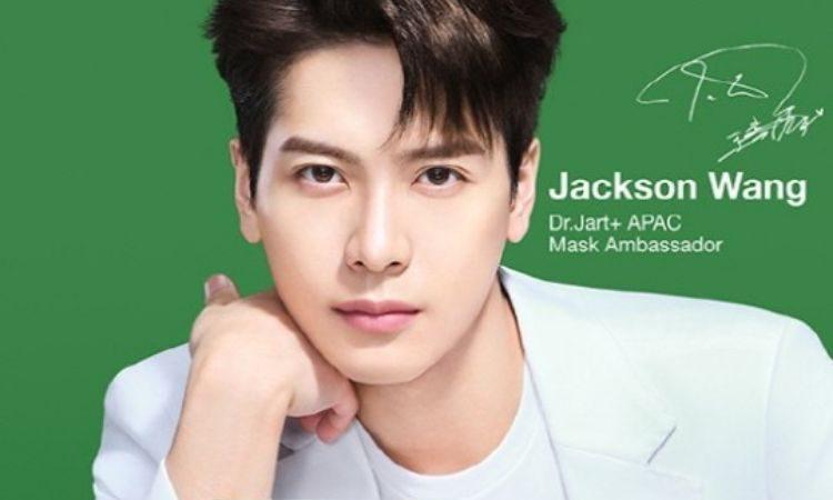Jackson Wang para Dr. Jart