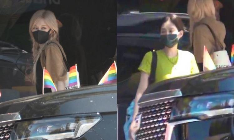 Jennie y Rosé de BLACKPINK son vistas en los ángeles + surgen rumores de embarazo