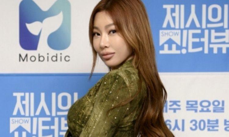 Jessi en conferencia de prensa