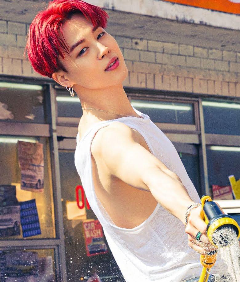Netizens desconcertados al ver que los tatuajes de Jungkook y Jimin de BTS fueron borrados en las fotos de 'Butter'