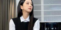 Jisoo de Blackpink para el desfile de Dior