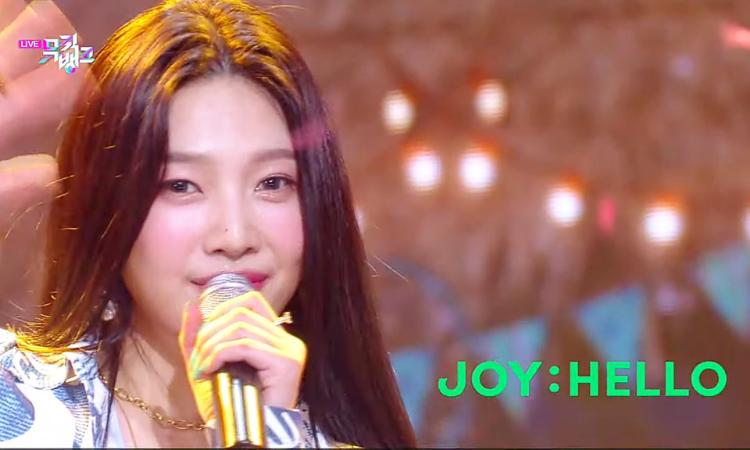 Netizens critican la primera actuación en solitario de Joy de Red Velvet en Music Bank