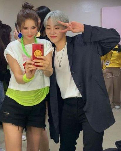 Jung Ah y Seungkwan