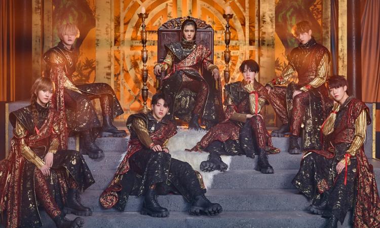 KINGDOM muestra su poderoso concepto de regreso para 'History Of Kingdom : PartⅡ. Chiwoo'