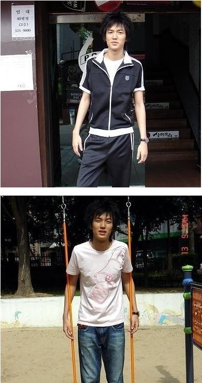 Fotos de Lee Min Ho que el actor no quiere que veas