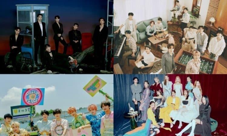 2PM, Seventeen, NCT Dream y Loona