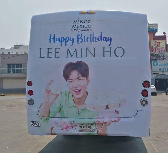 Lee Min Ho recorre las calles de México gracias al proyecto de cumpleaños de sus fans