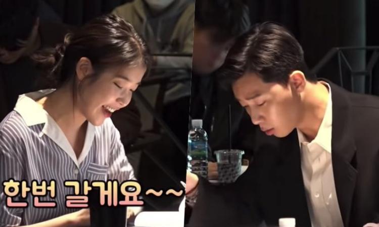 Se estrena clip de Park Seo Joon y IU en la lectura del guion para la película 'Dream'