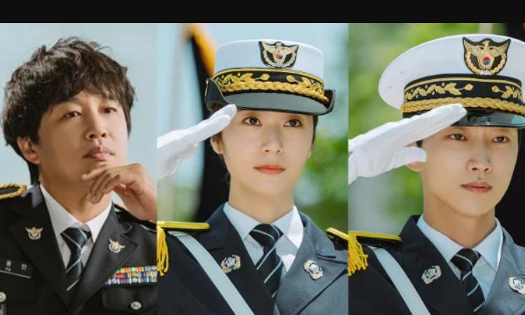 Liberan imágenes teaser de Krystal y Jinyoung de B1A4 en el Kdrama 'Police University'