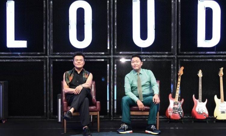 J.Y Park y PSY