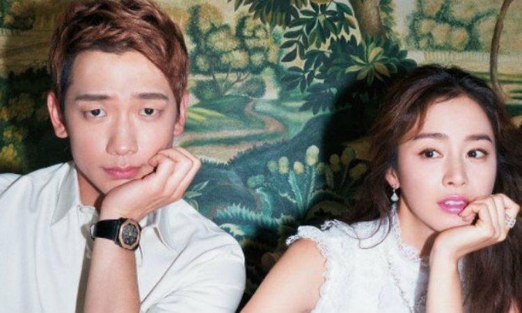 Rain y Kim Tae Hee