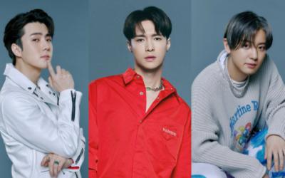 Lay, Sehun y Chanyeol de EXO protagonizan nuevos teasers para'Don't Fight The Feeling'