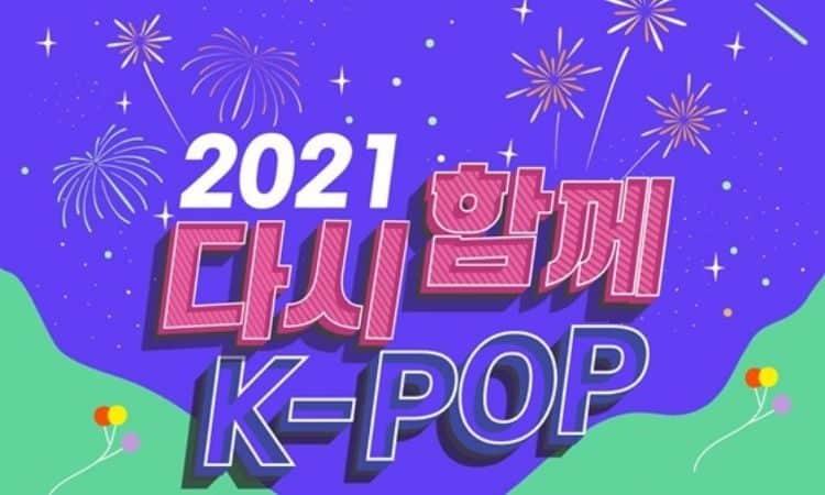 Póster del concierto de k-pop Together Again