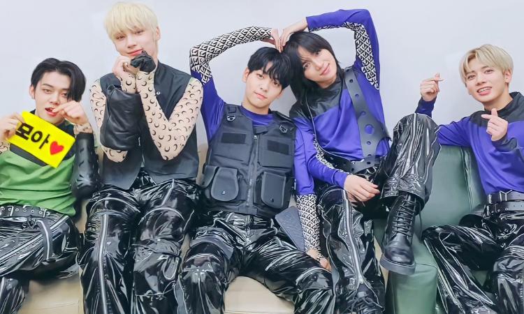 TXT estrena oficialmente el remix '0X1 = LOVESONG' feat. pH-1,Woodie Gochild, Seori