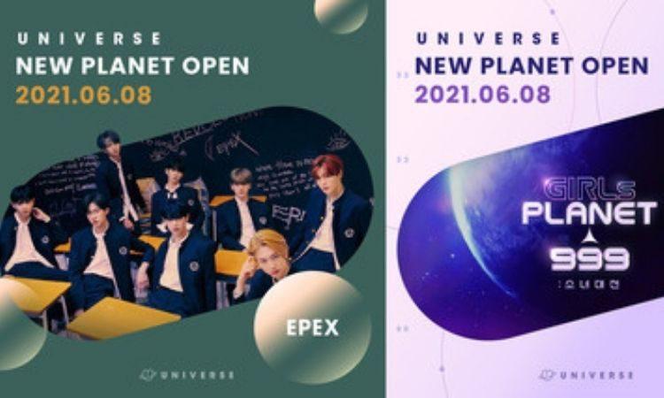 Planetas abiertos en Universe