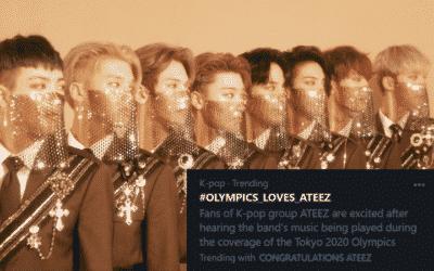 Ateez en los juegos olimpicos