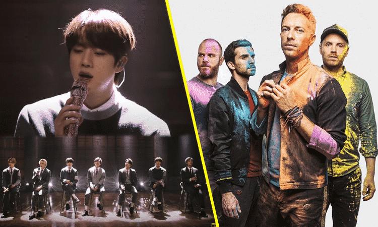BTS y Coldplay