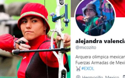 Alejandra tiro con arco