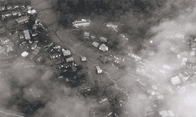 Sube a 9 el número de muertos por deslizamiento de tierra en Japón
