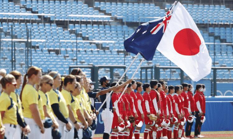 Da inicio la primer competencia en los Juegos Olímpicos de Tokio con partido de softbol