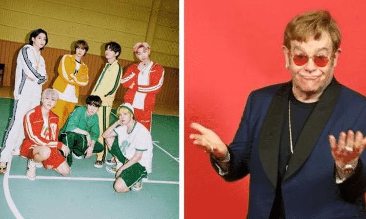 La leyenda musical Elton John muestra su apoyo a BTS por 'Permission to Dance'