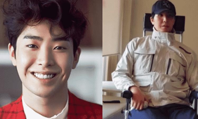 Así está el actor Park Min Woo a 3 años de su accidente en motocicleta