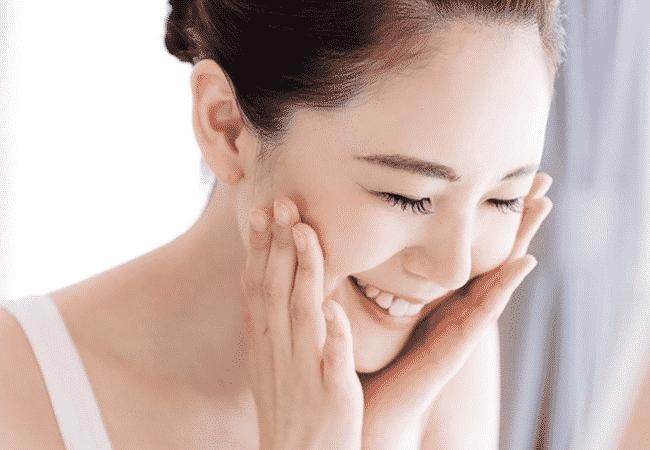 pele de mulher coreana