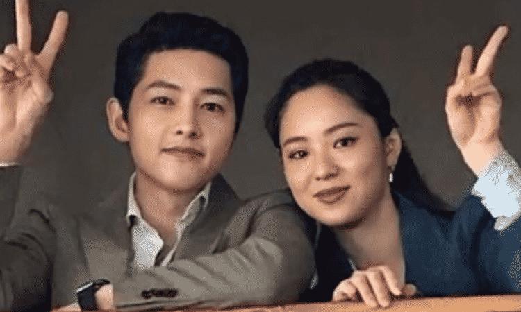 Song Joong Ki le envía una sorpresa a Jeon Yeo Bin al set de 'Glitch'