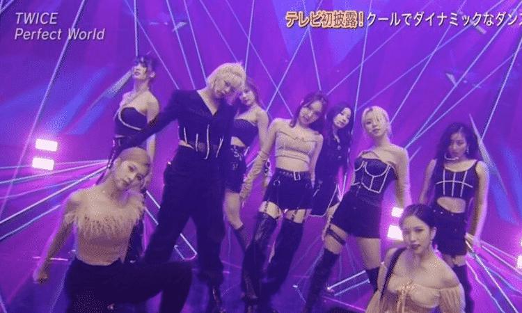 TWICE presenta el sencillo japonés 'Perfect World' en 'The Music Day 2021'