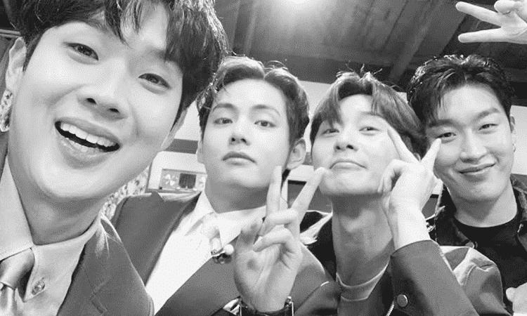 Park Seo Joon, V de BTS y el resto de la Wooga Squad se reúnen