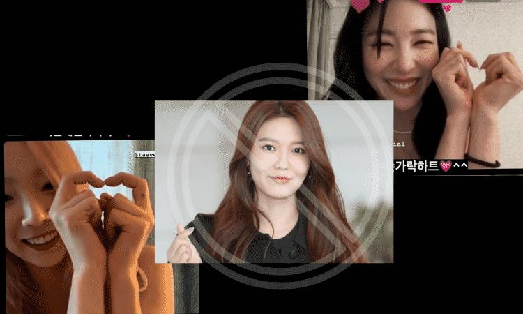 Sooyoung, Tiffany y Taeyeon, concierto,