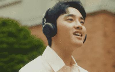 D.O de EXO consigue el trofeo en 'Music Bank' con su canción 'Rose'