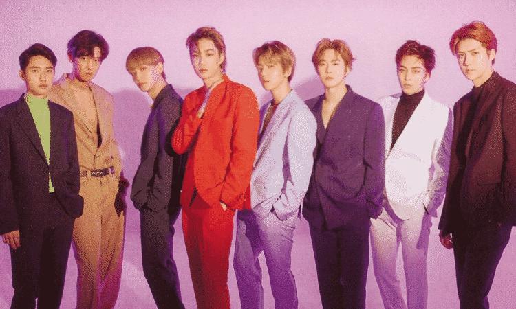 'Love Shot' de EXO es nominada al premio My Nick 2021